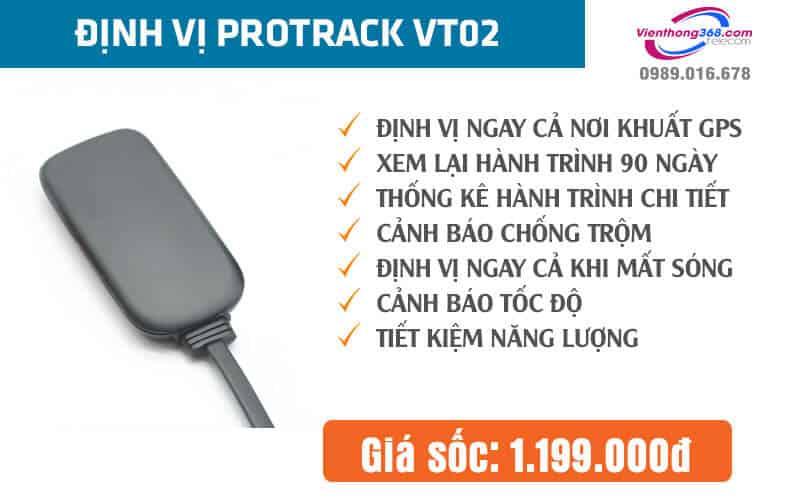 Thiết bị định vị Protrack VT02