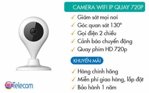 Camera Wifi 720p