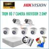 Trọn bộ 7 camera HikVision 2.0MP